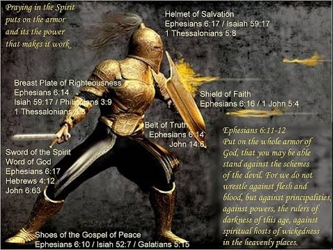 Full Armor Of God Bible Study Using Scripture To Interpret