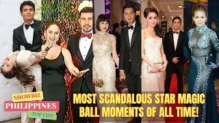 Most SCANDALOUS STAR MAGIC BALL MOMENTS Through the Years