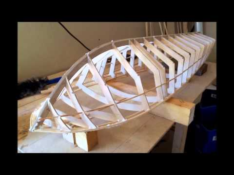 RC 49 inch Riva Aquarama Boat Build Part 1