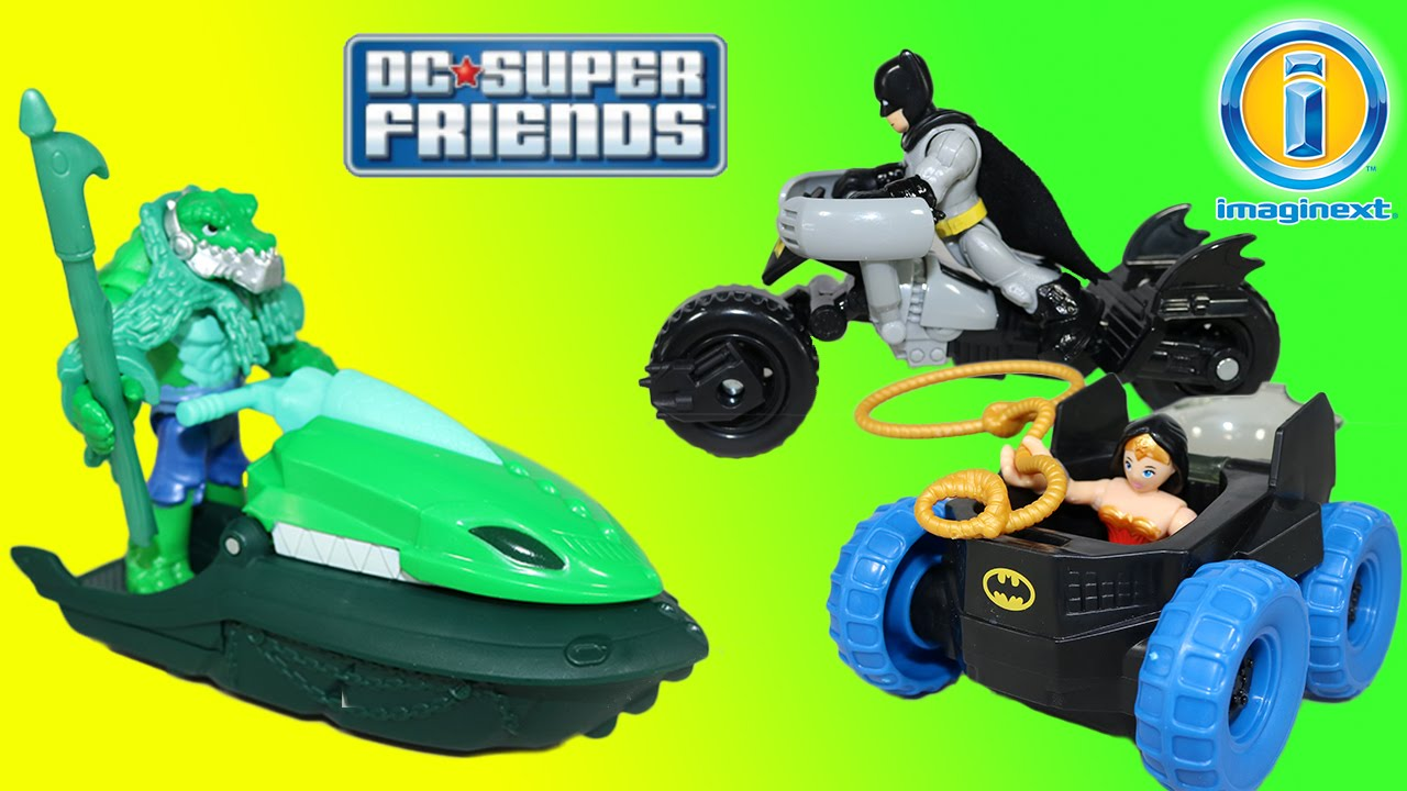 K Imaginext DC Super Friends Croc and Crocodile *BRAND NEW*