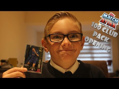 Match Attax 100 Club Packet Opening