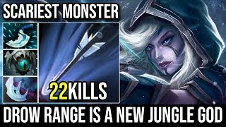 Drow Ranger is a God of the Jungle With Her New Ultimate - Monster Sleeping In Jungle 22KIlls Dota 2