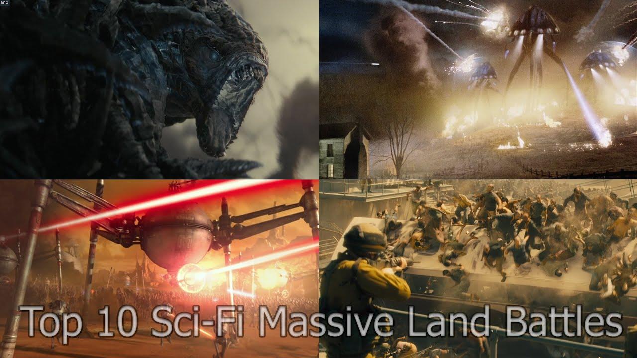 Download 10 [EPIC] Sci-Fi massive land battles movie scenes (Non-Marvel or DC)