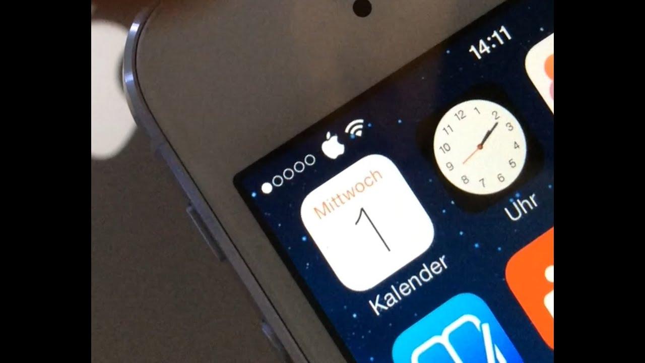 iphone netzbetreiber ausblenden
