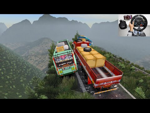 SETC Maruti Bus Driver Take A Risk | Euro Truck Simulator 2 With Bus Mod | SETC Maruti Bus Driving