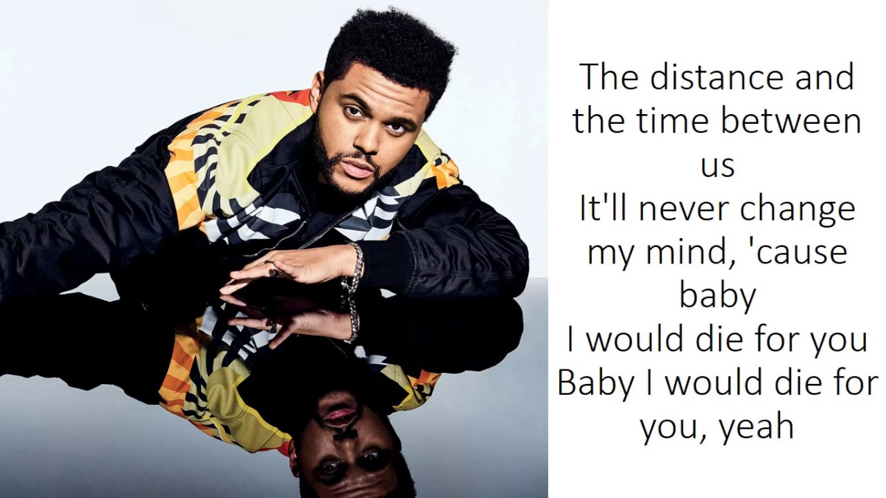 The Weeknd - Die For You (Lyrics)