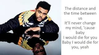 The Weeknd - Die For You (Lyrics) thumbnail