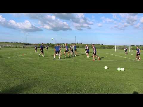 FC Skanderborg: Fodtennis efter Thisted kampen