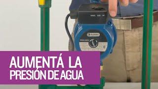 Pluvius  Bomba Presurizadora  PRES  Aumentá la presión de instalaciones interiores
