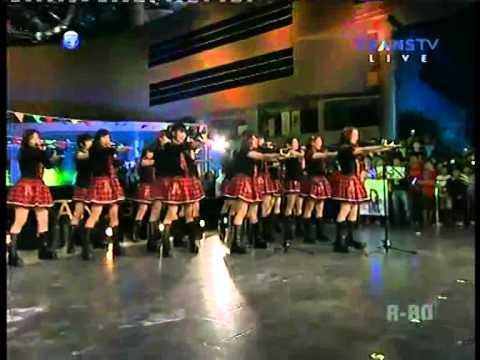 JKT48 - Flying Get @ Yuk Keep Smile Trans TV   (25/05/2014)