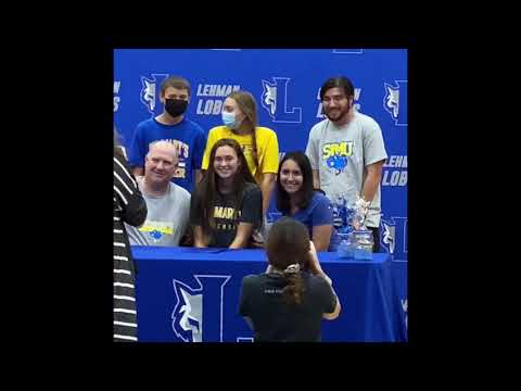 Jade Hickey College Signing