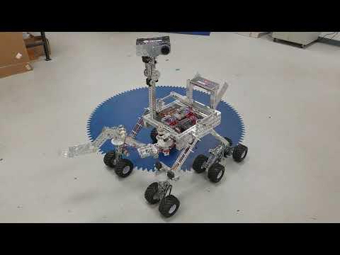 TETRIX Upgrade to Mars Curiosity Rover