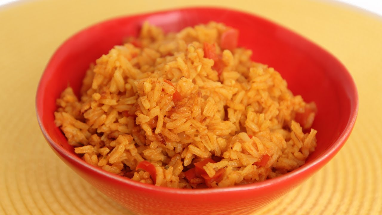 Mexican Yellow Rice Recipe  Laura Vitale  Laura In The Kitchen Episode  570  Youtube