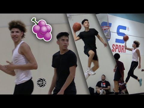 LaMelo Ball & Will Pluma TEAMUP AGAIN! 🍇 In GAME JELLY'S 🍇!!