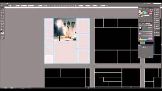 Using a Mood Board Photo Collage Template in Adobe Illustrator CC