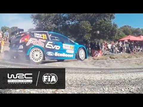WRC 2 - Che Guevara Energy Drink Tour de Corse 2016: HIGHLIGHTS Day 1