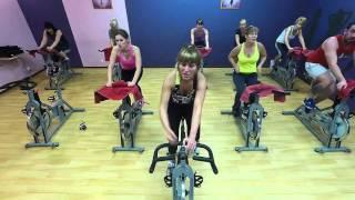Тренировка cycle с Татьяной Корня