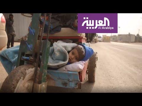 الأحوال المناخية تضاعف الوضع الإنساني المتدهور لنازحي إدلب  - 20:59-2020 / 2 / 11