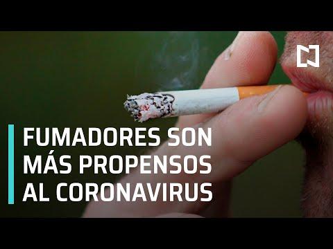 Fumadores más propensos al coronavirus - Las Noticias