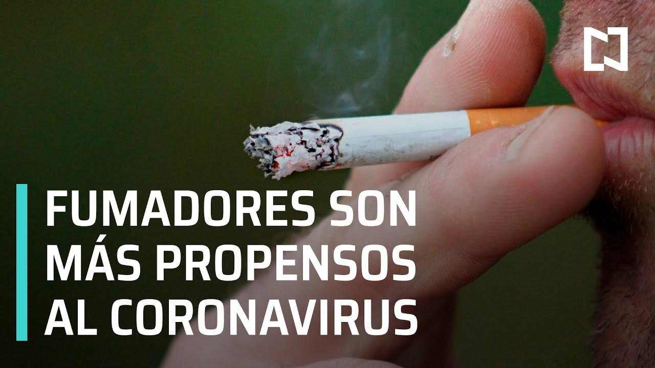 Jóvenes fumadores con graves complicaciones al contraer COVID-19