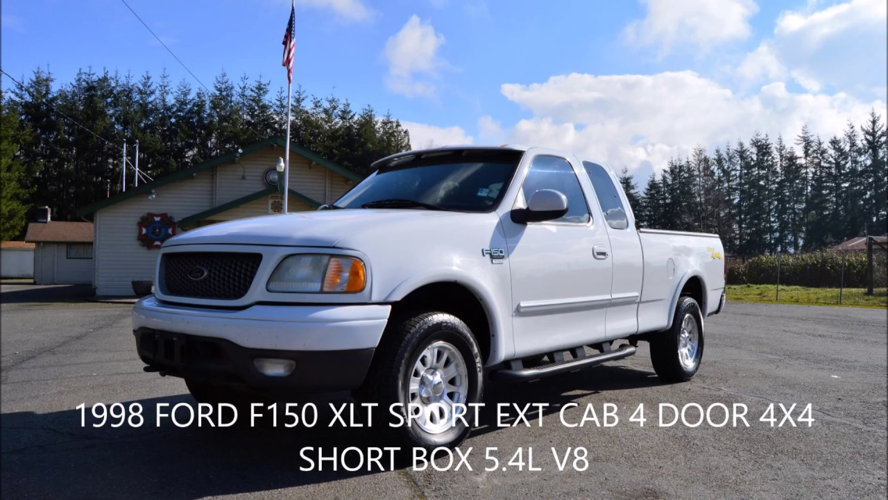 small resolution of 2001 ford f150 xlt sport 4x4 ext cab 4 door 5 4l v8 161k miles