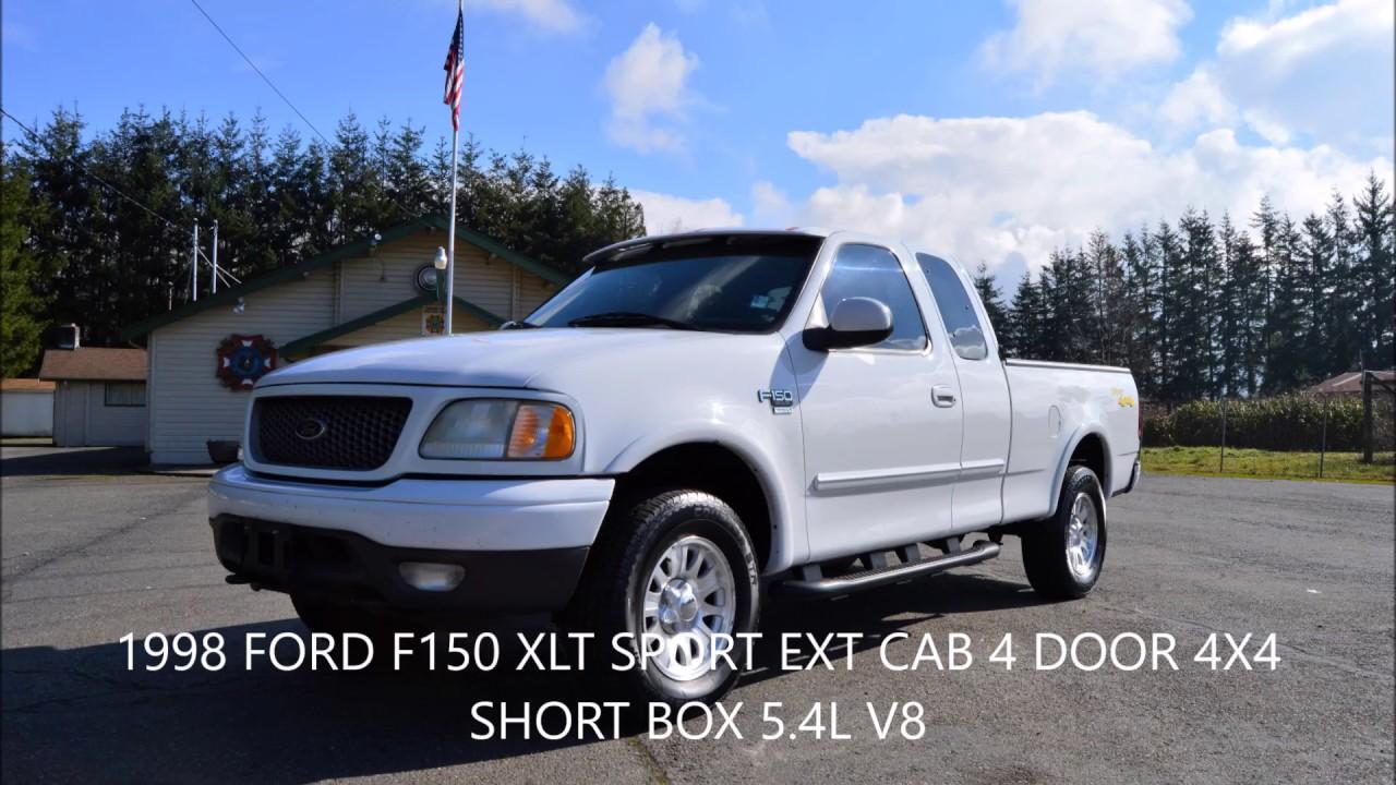 hight resolution of 2001 ford f150 xlt sport 4x4 ext cab 4 door 5 4l v8 161k miles