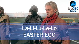 La Li Lu Le Lo Easter Egg Metal Gear Solid V: The Phantom Pain
