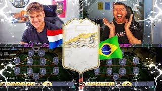 FIFA 21: RANDOM ICON SQUAD BUILDER BATTLE 🔥 VS PROOWNEZ 💥