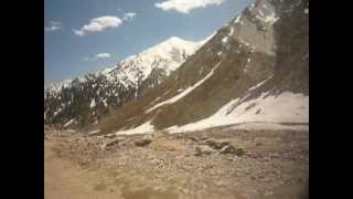 Lowari Top Chitral, a 11000 ft high snow covered pass