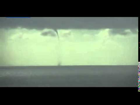 A gigantic Waterspout was filmed off the Coast of Plymouth   Daily Mail Online