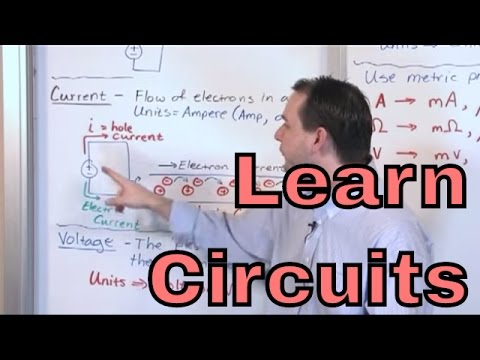 Lesson 1 - Voltage, Current, Resistance (Engineering Circuit