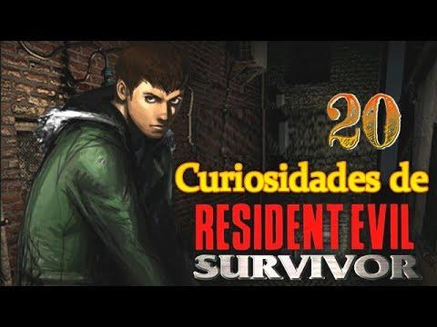20 Curiosidades de Resident Evil Survivor