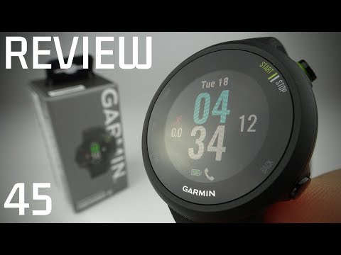 Garmin Forerunner 45 Review & Unboxing - 24 Hour Review