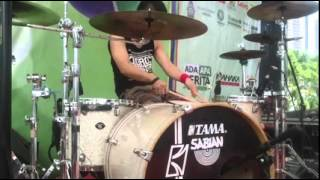 ikmal tobing check sound drum solo