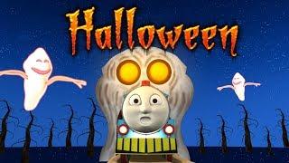 Halloween - Halloween train - Toy Factory - Toy Train Cartoon - Thomas & Friend Halloween - Хэллоуин