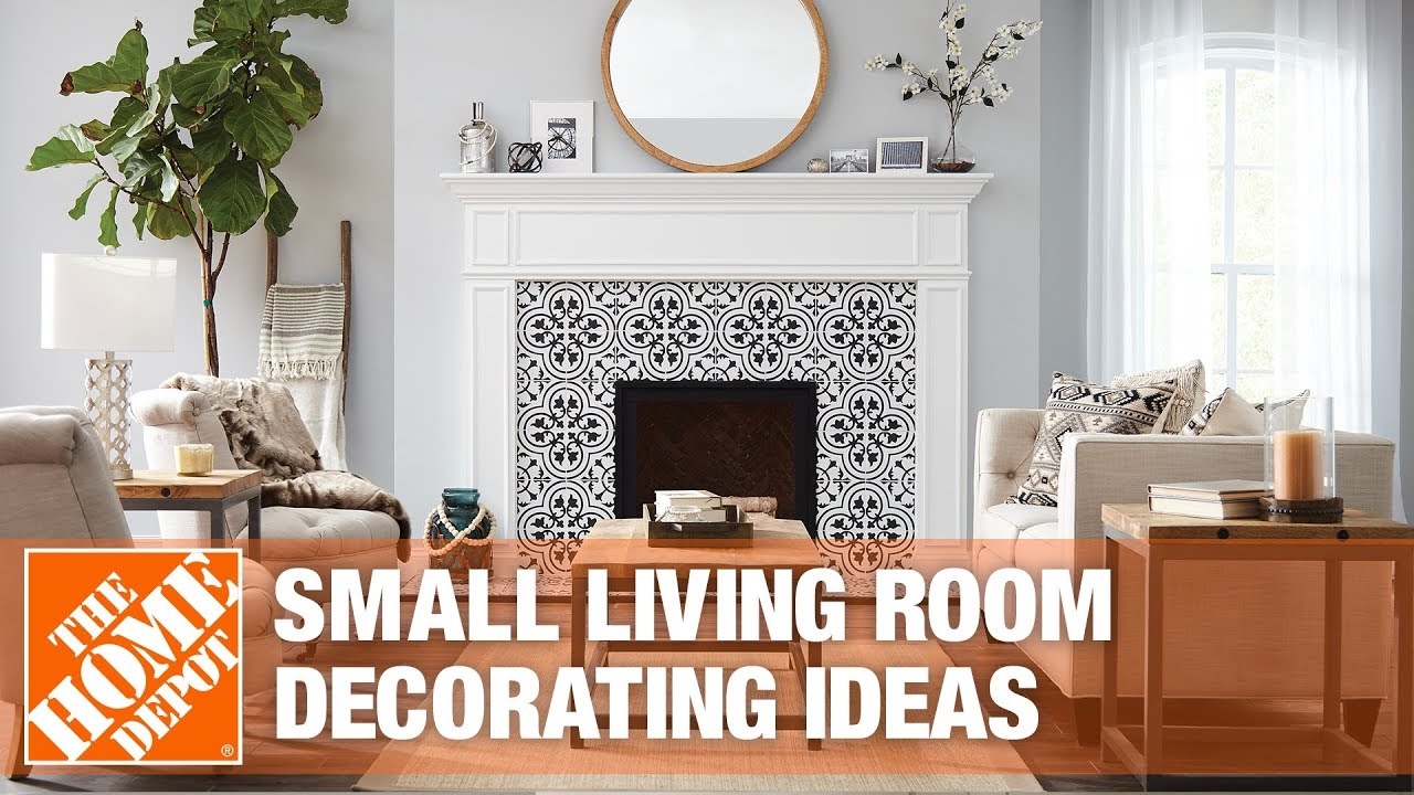 Small Living Room Ideas - The Home Depot