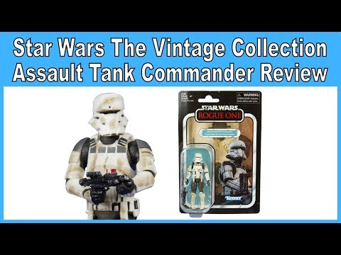 Star Wars Vintage Collection Imperial Assault Tank Commander VC148 Wave 7