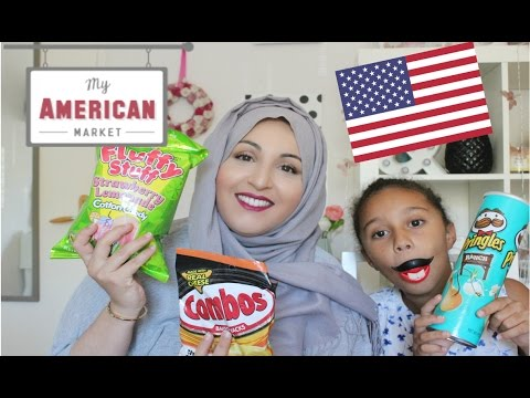Dégustation My American Market avec ma fille !