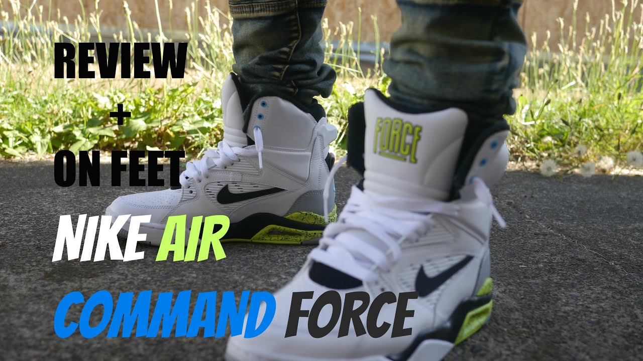 MARSHALL'S SHOE PICK UP NIKE AIR COMMAND FORCE REVIEW + ON