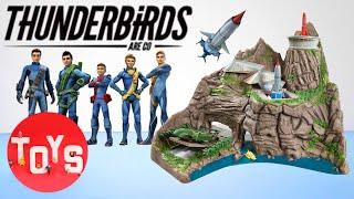 TOP 10 CHRISTMAS 2015 TOYS   Thunderbirds Tracey Island Playset Toy