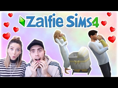 Having Our First Baby  Zalfie Sims Edition 18