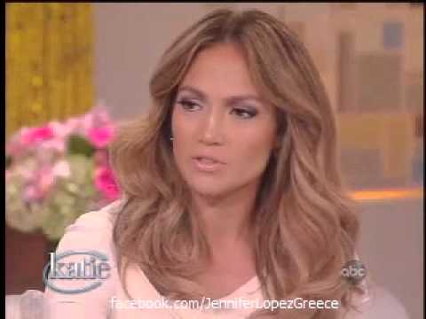 J.Lo on Katie Couric's new show