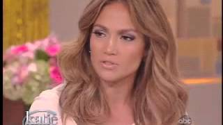 Jennifer Lopez on 'Katie' Couric Show 14/9/12 (Part 1/3)