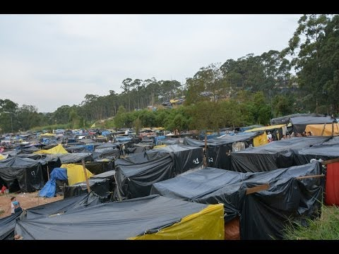 São Paulo Homeless Workers' Movement Camp