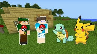 CAPTURAMOS POKEMONS INCRÍVEIS NO MINECRAFT !