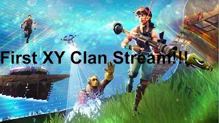 2,800 vbuck Giveaway!!! And XY Clan's first stream!!! - Fortnite
