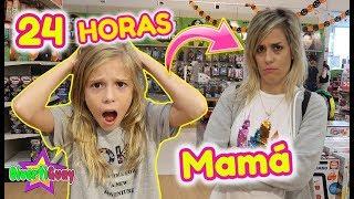 24 HORAS NIÑA SIENDO MADRE DE UN ADULTO!! MAMÁ 24 HORAS DE UN ADULTO!! DANIELA DIVERTIGUAY