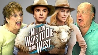 A Million Ways to Die in the West in theaters May 30th, 2014 NEW Vids Sun, Tues & Thurs! Subscribe: http://goo.gl/nxzGJv Watch all main React episodes ...