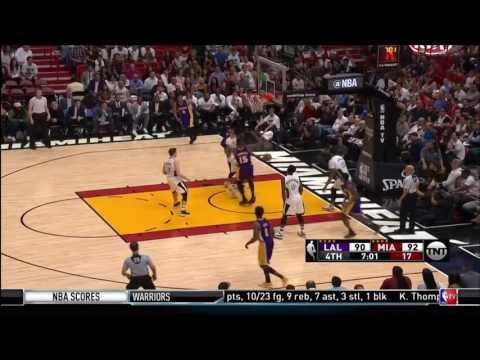 December 22, 2016 - TNT - Game 30 Miami Heat Vs Los Angeles Lakers - Win (10-20)(Inside The NBA)