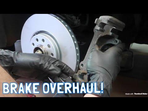 Saab 9-5 Full Brake Replacement DIY!